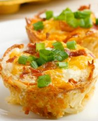 Hash Brown Egg Nests are a delicious breakfast or brunch idea that's great on-the-go or when you're entertaining