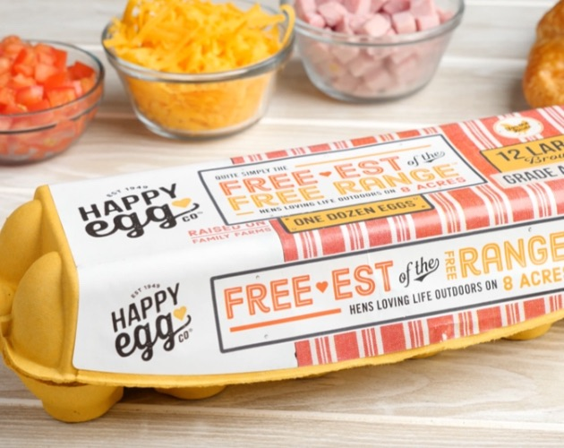 Happy Eggs used to make croissant breakfast boats