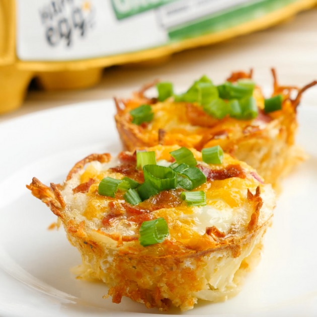 Hash Brown Egg Nests are the perfect grab-and-go breakfast idea you can easily make with a few simple ingredients