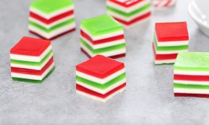 These Holiday Jello Shots are a delicious way to celebrate the holidays