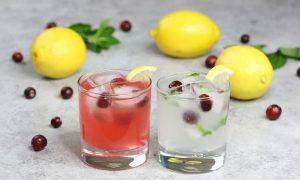 Holiday Lemonade Cocktails