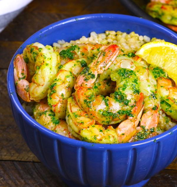 oney Garlic Butter Shrimp