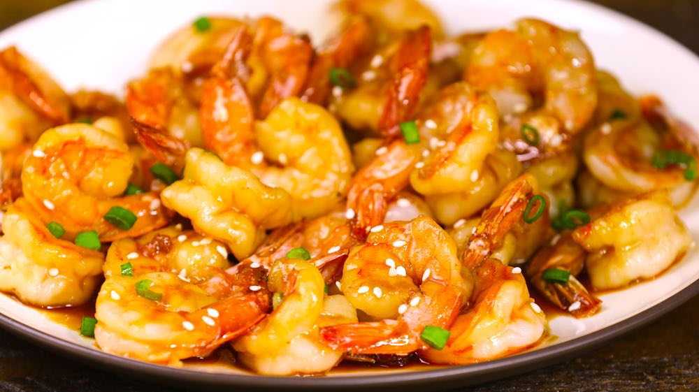 Honey Garlic Butter Shrimp