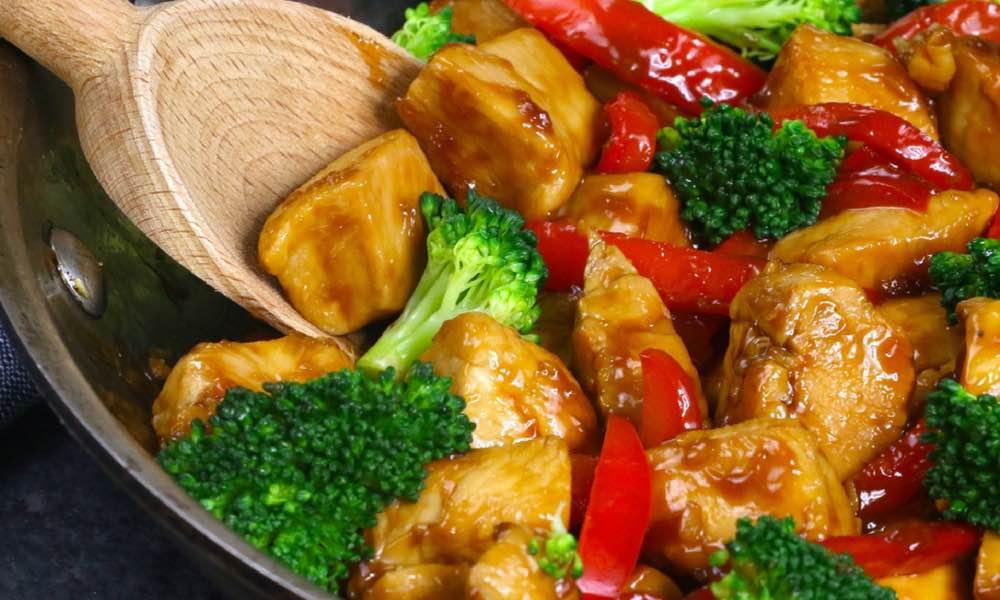 15 Minute Easy Honey Garlic Chicken