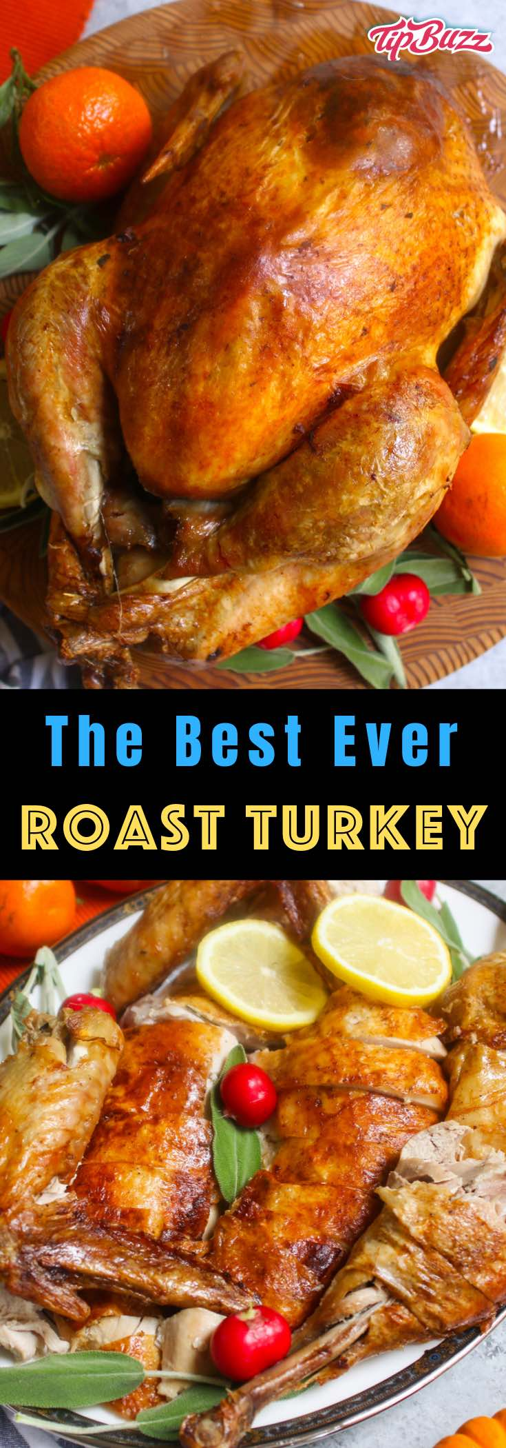 Learn how long to cook a turkey and get a perfectly cooked bird for your Thanksgiving or Christmas dinner! The rule of thumb is 15 minutes per pound, but the cooking time also depends on oven temperature, whether the turkey is stuffed or unstuffed, and fresh vs. frozen.