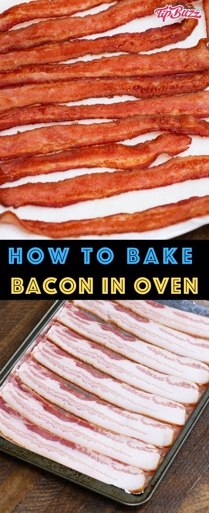 Learn how long to cook bacon in the oven at any temperature including 400, 350 and 375 degrees. Whether you've got regular or thick cut, you can make crispy bacon easily by using a parchment-lined pan with or without a rack. It's a great way to feed a crowd!