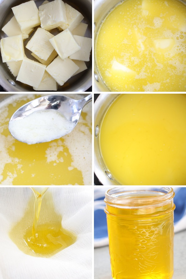 Learn how to clarify butter in a saucepan using a few simple steps