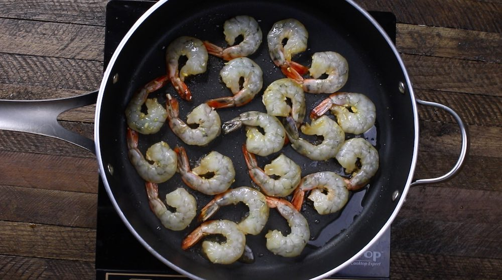 Shrimp sauté