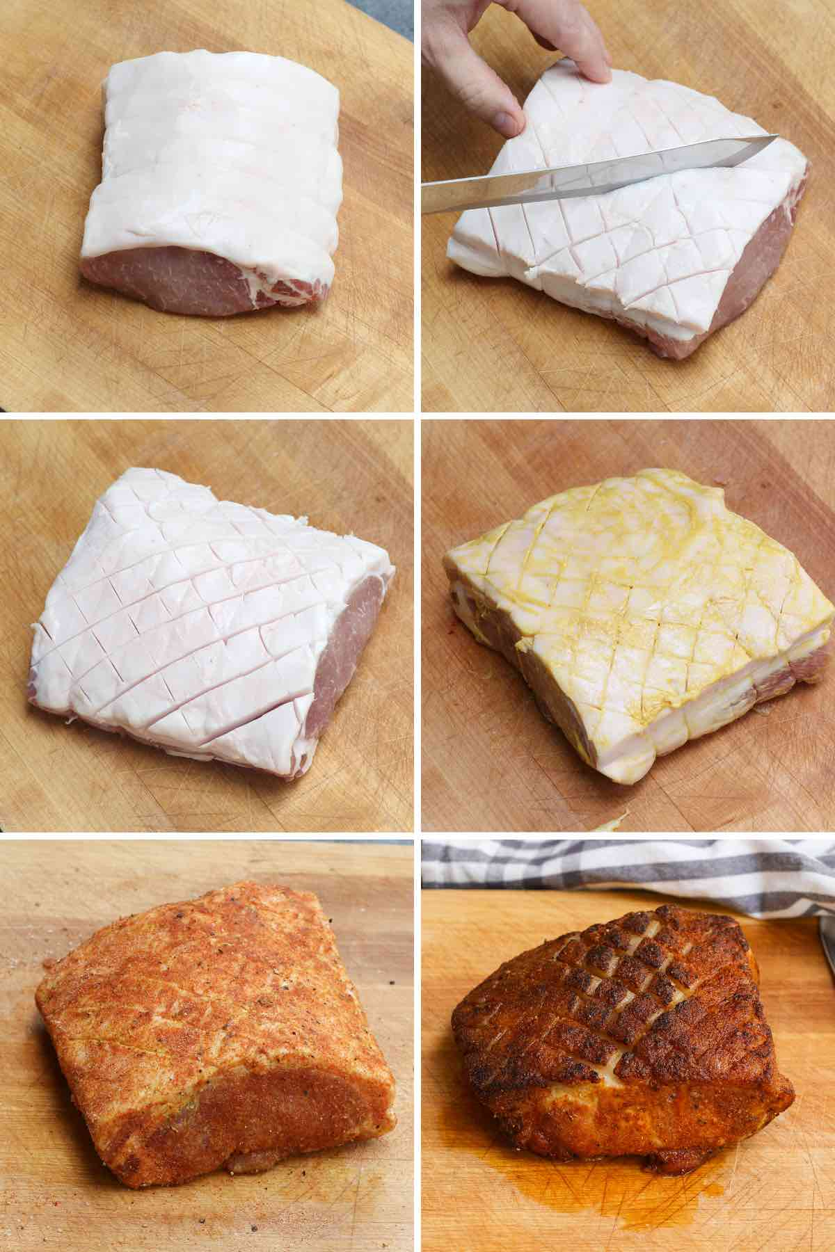 Key steps in preparing a pork loin for smoking