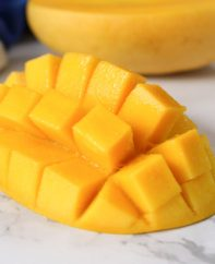 Learn How to Tell If a Mango Is Ripe and juicy like this one using a few simple tips