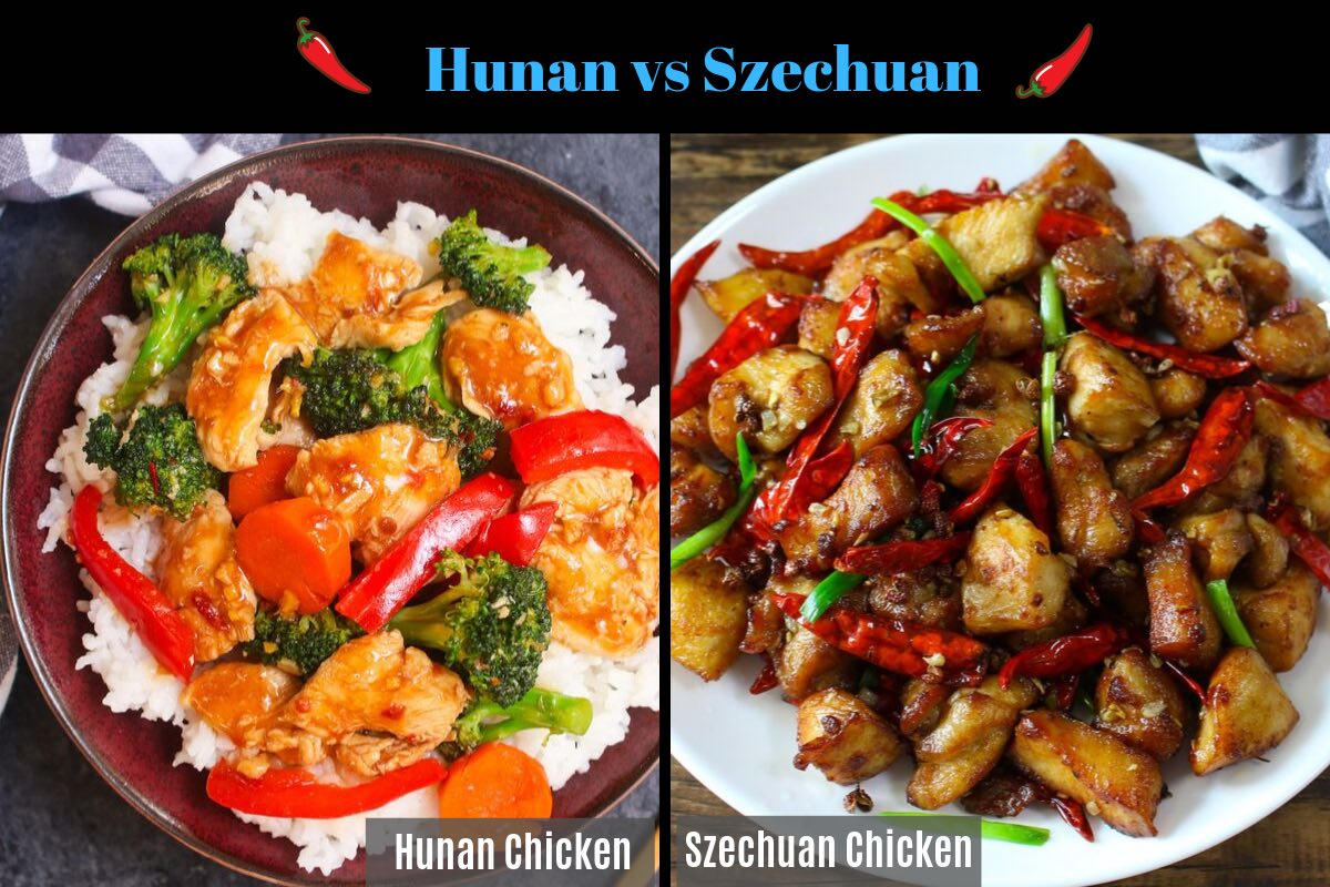 a complete guide on the differences between Hunan Chicken and Szechuan Chicken. It will help you to understand all the differences so that you can order or make the right dish that you'll enjoy!