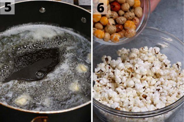 Hurricane Popcorn recipe: step 5 and 6 photos.