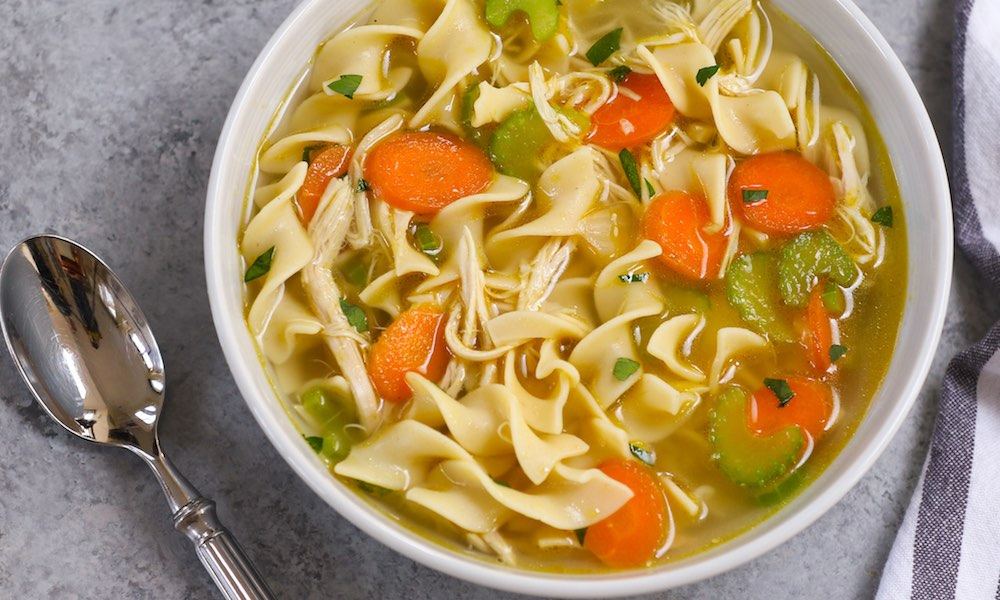 Instant Pot Chicken Soup with Noodles Recipe | TipBuzz
