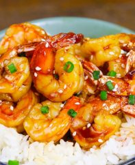 Instant Pot Honey Garlic Shrimp