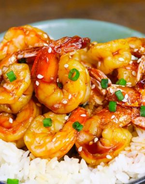 Instant Pot Honey Garlic Shrimp