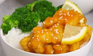 Easy Crispy Chinese Lemon Chicken