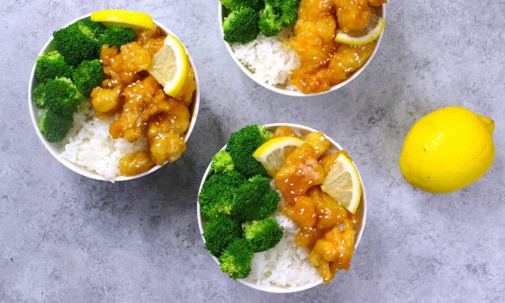 Easy Crispy Chinese Lemon Chicken
