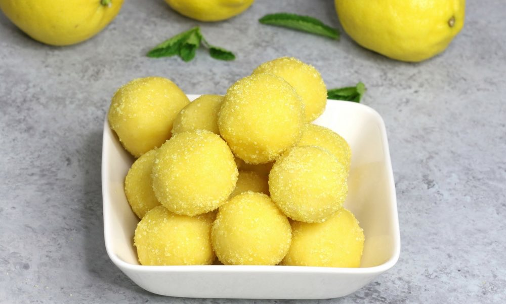 15 Minute Easy Lemon Truffles