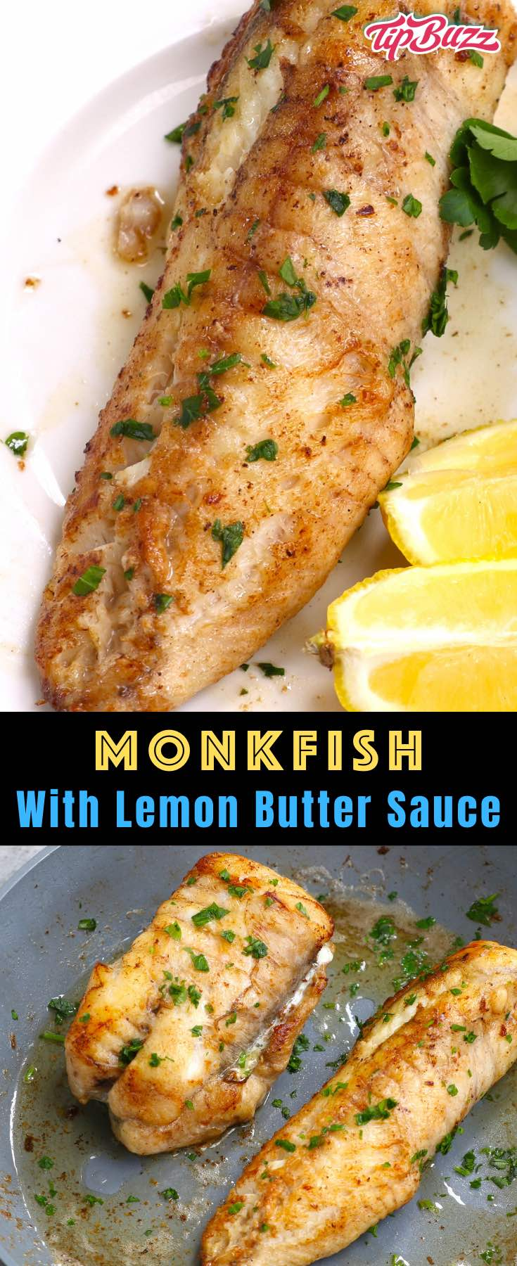 Monkfish is a delicious seafood choice that you can have on your dinner table in just 20 minutes! #monkfish