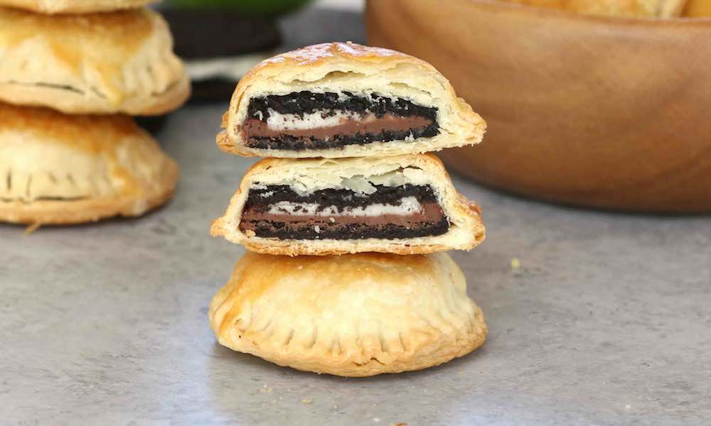 This Nutella Stuffed Oreo Puff recipe is fun and easy to make