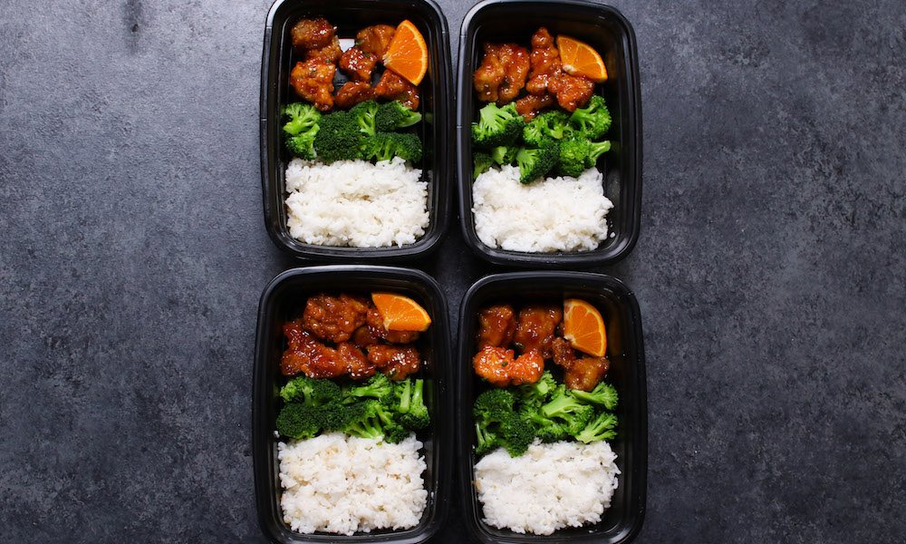 Orange Chicken Meal Prep