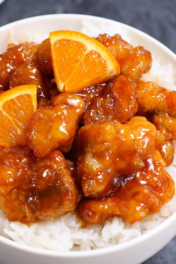 Orange Chicken Meal Prep