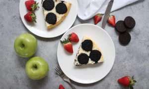 This Oreo Upside Down Cheesecake Recipe is a fun and easy dessert to make