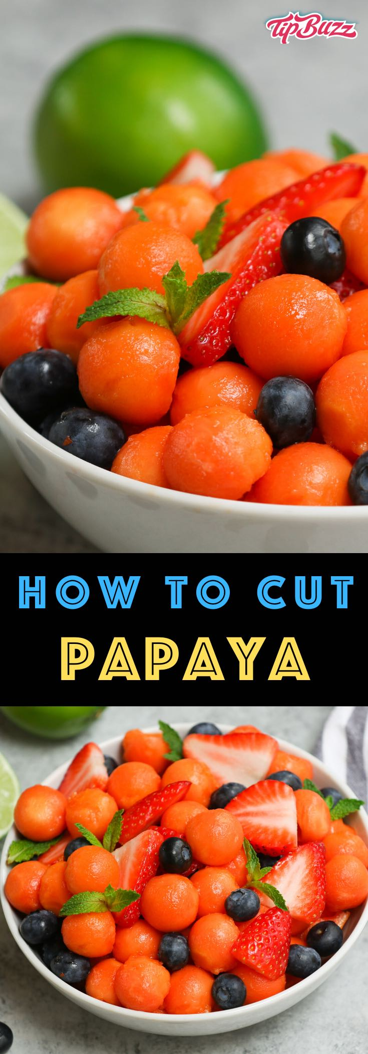Learn how to cut and eat papaya so you can enjoy this nutritious tropical fruit! It's packed with health benefits and is a great snack or addition to fruit salads, smoothies, desserts and more.