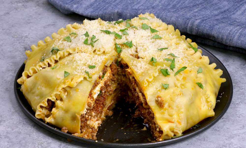Upside Down Party Lasagna