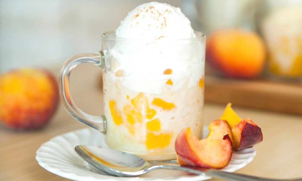 Microwave Peach Cobbler With Cake Mix