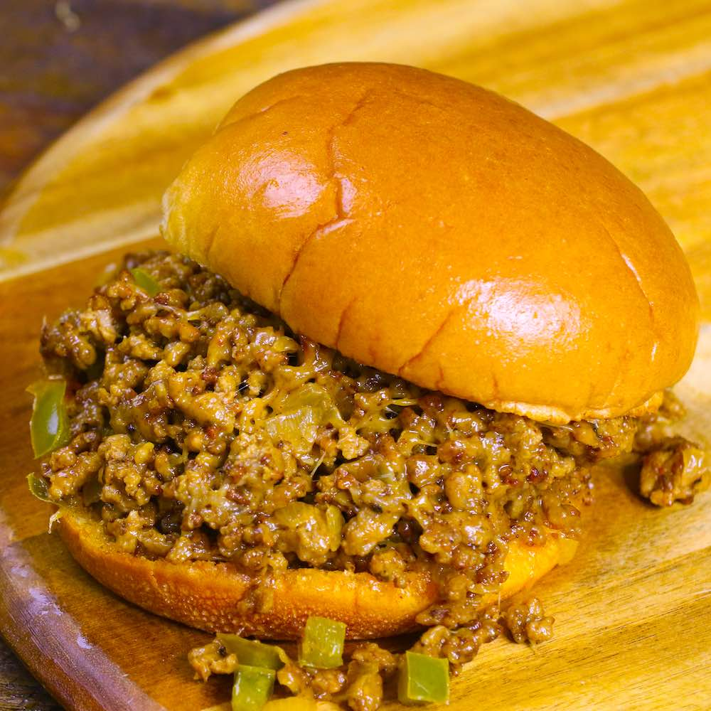 Best philly cheese steak sloppy joes recipe with video tipbuzz plus video recipe tutorial the easiest and most unbelievably delicious philly cheesesteak sloppy joes and itll be forumfinder Choice Image