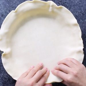 Perfectly Flaky Homemade Pie Crust