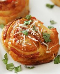 This Pizza Pinwheels recipe is easy and delicious