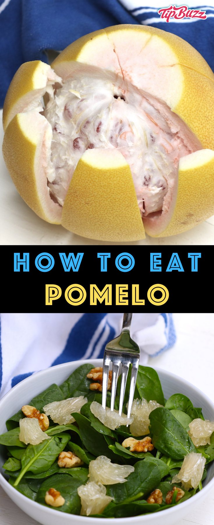 Pomelo is a large citrus fruit with a refreshing sweet and mild taste. Here we cover what is a pomelo, some of its health benefits and how it compares to grapefruit. We also explain different ways to eat pomelo.