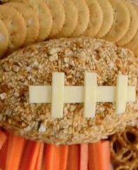 This Pretzel Cheese Football is a fun recipe for game day