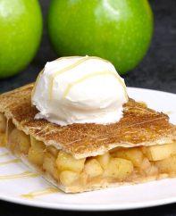 Sheet Pan Apple Pie Bake