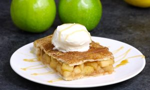 Sheet Pan Apple Pie Bake