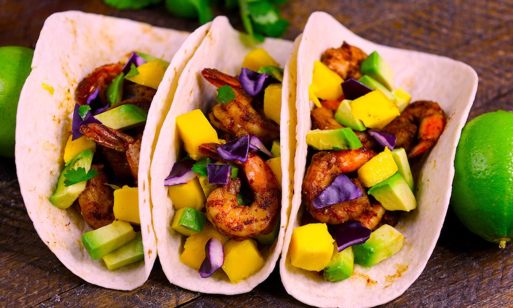 15 Minute Easy Blackened Shrimp Tacos