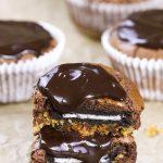 Slutty Brownie Cupcakes