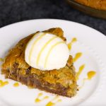 Smores Stuffed Skillet Cookie