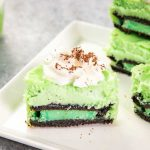 These delicious Oreo Cheesecake Cupcakes are for St Patrick's Day and feature Mint Creme Oreos