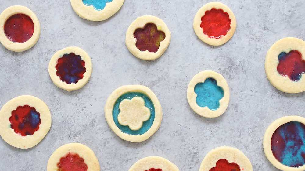 This Stained Glass Cookies recipe is a beautiful treat for the holidays