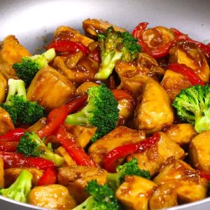 Sticky Honey Garlic Chicken