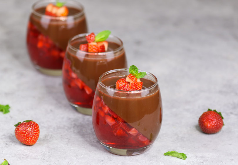 Strawberry Chocolate Mousse