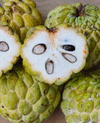 If you're looking to try a new and unusual tropical fruit, you may want to check out the Sugar Apple. Also known as custard apples or sweet sop, this tasty fruit is quite common in West Indian countries such as Jamaica, as well as South and Central America.