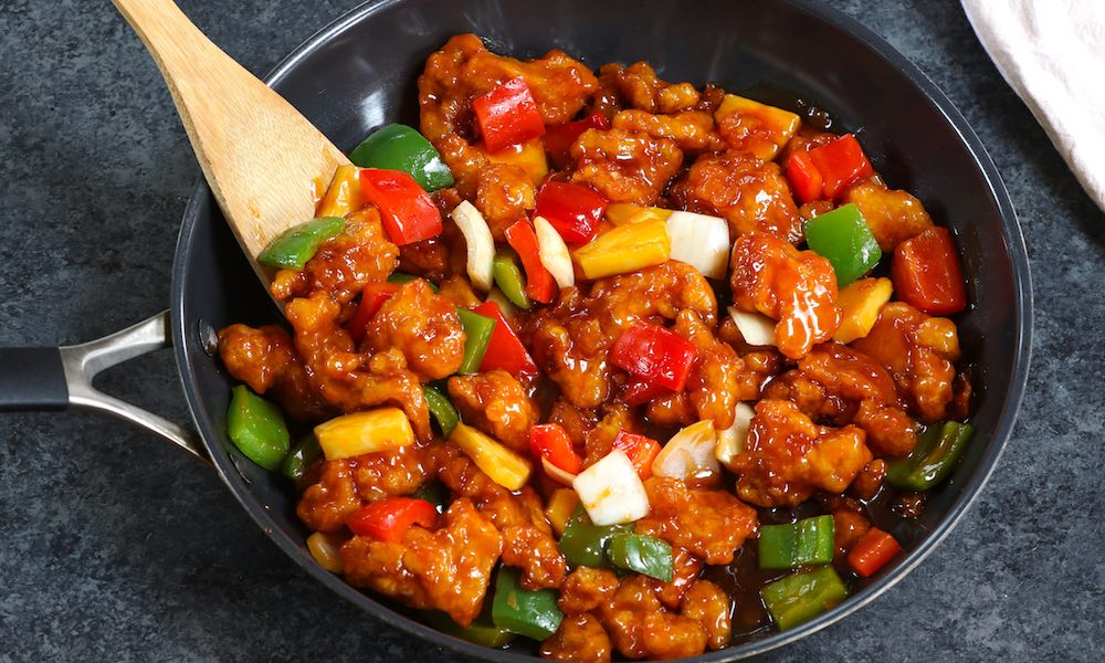 20 Minute Sweet and Sour Chicken