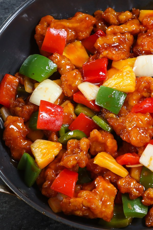 Crispy outside and tender on the inside, this Sweet and Sour Chicken recipe also features the most luxurious sweet and sour sauce that's so addictive.