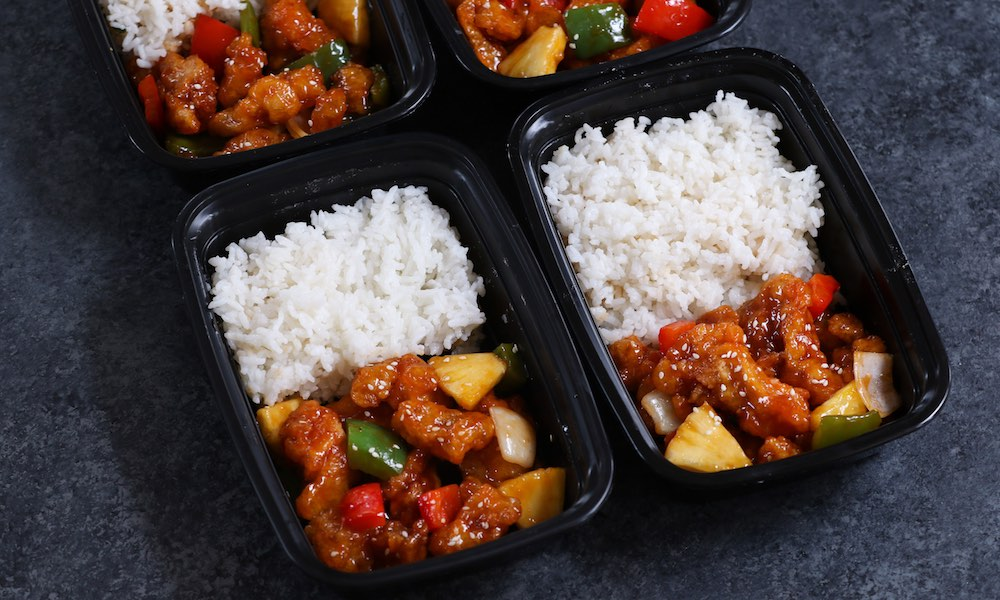 Sweet and Sour Chicken Meal Prep
