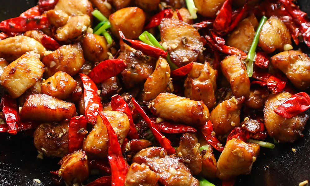 Easy Szechuan Chicken