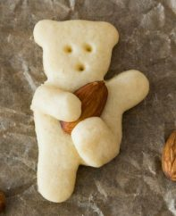 These Teddy Bear Cookies are a cute game day treat with a football theme